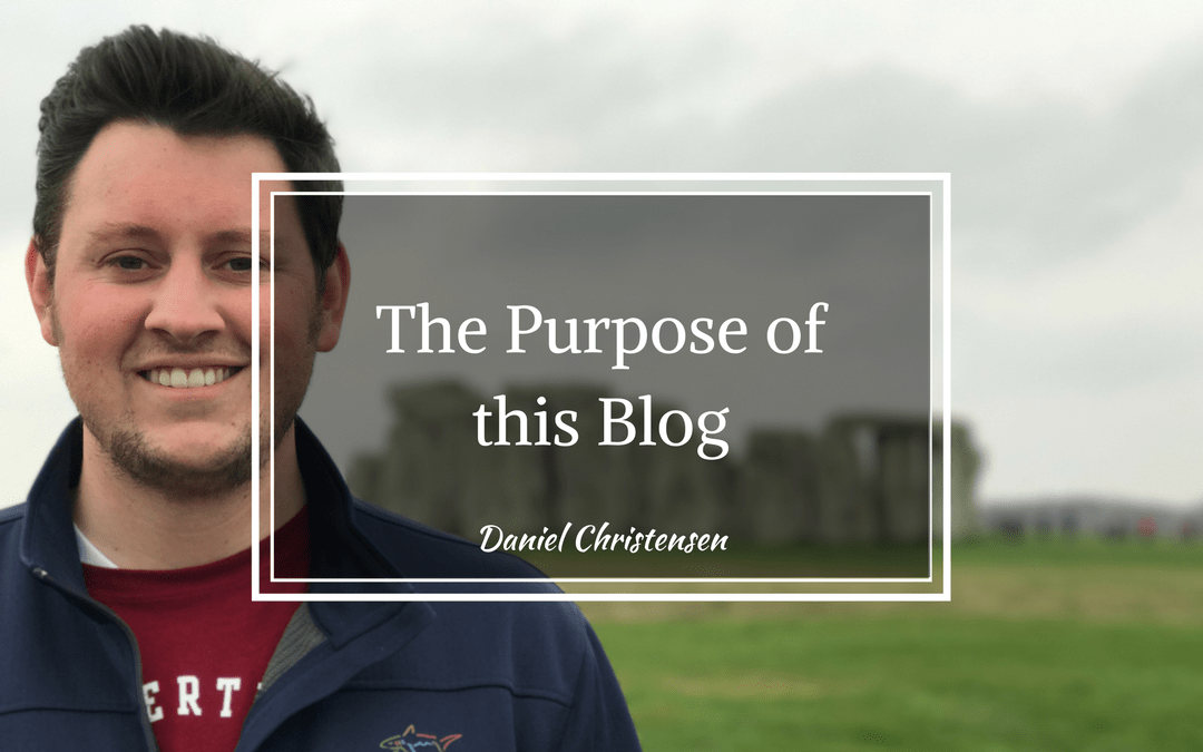 The Purpose of This Blog